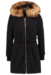 Miss Selfridge Parka Black