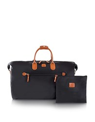 Bric's X Travel Large Foldable Last Minute Holdall In A Pouch Black