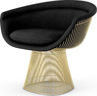 Knoll Platner Gold Lounge Chair
