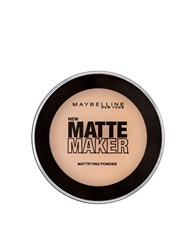 Maybelline Matte Maker Mattifying Powder Nude Beige Cream Beige