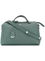 Fendi By The Way Tote Women Leather One Size Green
