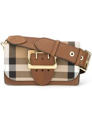 Burberry 'Madison' Crossbody Bag Brown