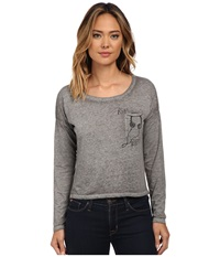 Mavi Jeans Shirt With Pockets Grey Women's Clothing Gray