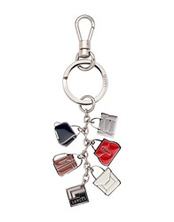 Lancel Key Rings Silver