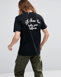 Dc Shoes T Shirt With Back Print Black