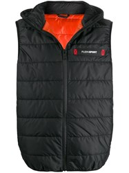 Plein Sport Padded Hooded Gilet 60