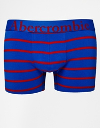 Abercrombie And Fitch Trunks In Stripe Blue