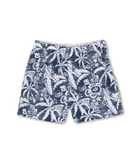 Tommy Bahama Tropical Tattoo Boxers Dark Sea Men's Underwear Navy