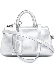 Marsell Metallic Shoulder Bag