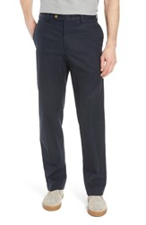 Bills Khakis Big And Tall M2 Classic Fit Flat Front Travel Twill Pants Navy