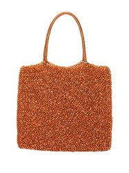 Anteprima Standard Medium Wirebag Tote Orange