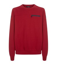 Paul And Shark Crew Neck Sweater Red