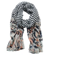 Betty Barclay Long Striped Scarf Multi