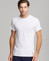 Polo Ralph Lauren Slim Fit Crewneck Tee Pack Of 3 White