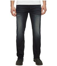 Buffalo David Bitton Driven Straight Leg Jeans In Faded Dark Wash Faded Dark Wash Men's Jeans Blue