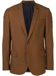 Paul Smith Ps By Suit Jacket Brown