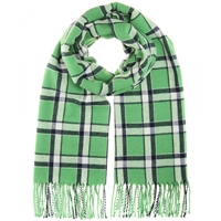 Marc By Marc Jacobs Toto Plaid Scarf Jocker Green Multi