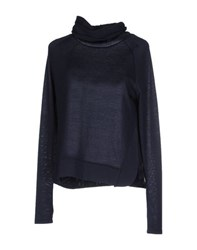 Only Knitwear Turtlenecks Women Dark Blue
