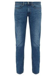 Acne Studios Max Washed Slim Fit Jeans Blue
