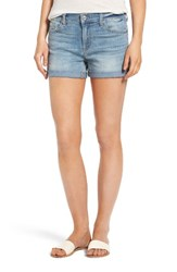 7 For All Mankindr Women's Mankind Roll Cuff Denim Shorts