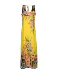 Amy Gee Long Dresses Yellow