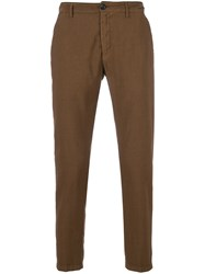 Department 5 Prince Cropped Trousers Brown