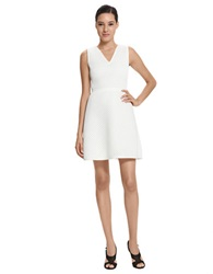 Raoul Pointelle Knit Dress Ivory