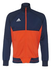Adidas Performance Tiro 17 Tracksuit Top Collegiate Navy Energy White Dark Blue