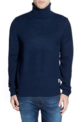 Men's Bellfield Regular Fit Textured Knit Turtleneck Sweater
