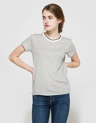 Rag And Bone Rib Base Tee Bright White