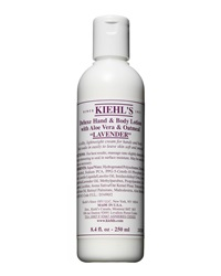Kiehl's Since 1851 Lavender Deluxe Hand And Body Lotion With Aloe Vera And Oatmeal 8.4 Fl. Oz.
