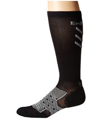 Thorlos Experia Energy Over The Calf Single Pair Black Crew Cut Socks Shoes