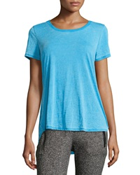 Marc Ny Performance Heathered High Low Tee St. Tropez