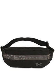 Emporio Armani Logo Nylon Belt Bag Black