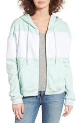 Wildfox Couture Women's Blocked Marquis Front Zip Hoodie