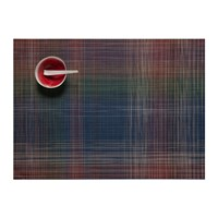 Chilewich Plaid Rectangle Placemat Multi