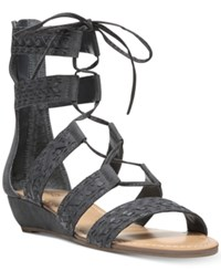Carlos By Carlos Santana Kamilla Lace Up Gladiator Sandals Women's Shoes Titanium Blue