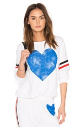 Wildfox Couture Classic Heart Top White
