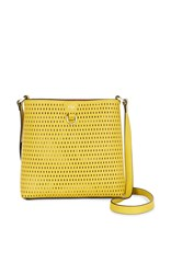 Karen Millen Embossed Cross Body Bag Yellow