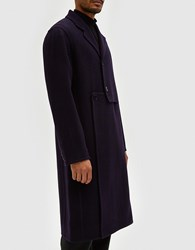 J.W.Anderson Cut Out Coat Navy
