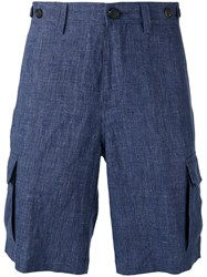 Brunello Cucinelli Tailored Shorts Blue