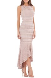 Js Collections 'S Lace High Low Gown