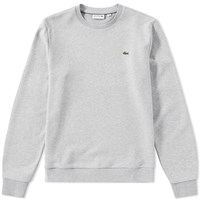 Lacoste Fleece Crew Sweat Grey