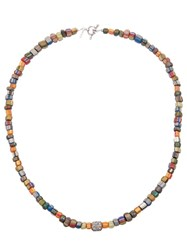 Catherine Michiels Beaded Necklace Multicolour