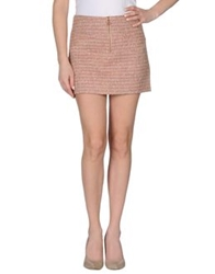 Frankie Morello Mini Skirts Fuchsia