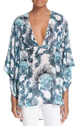 Women's Just Cavalli Shell Print Caftan Blouse