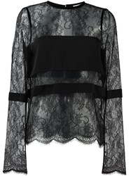 Ungaro Emanuel Lace Blouse Black
