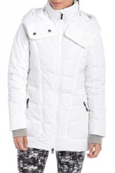 Lole 'Nicky' Hooded Insulated Jacket White