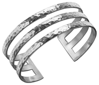 Dower And Hall Sterling Silver Triple Cuff Silver 25Mm