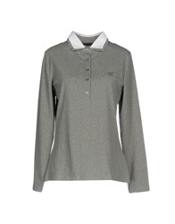 Henry Cotton's T Shirts Grey